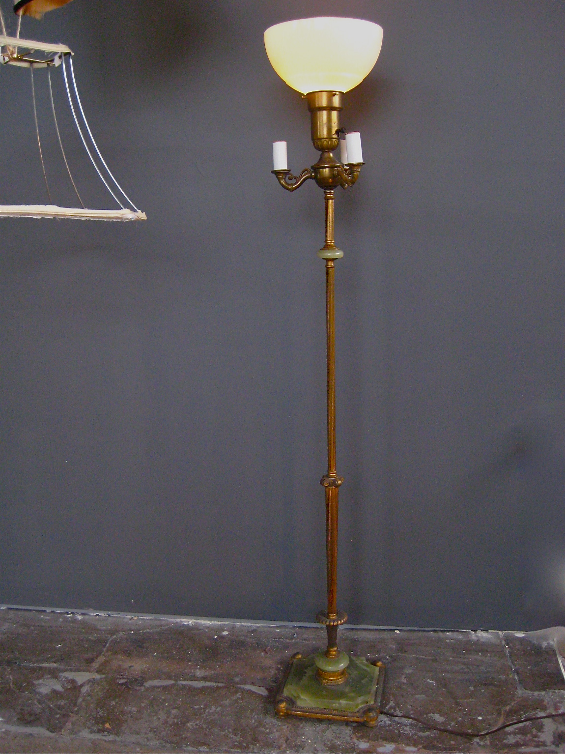 1920 39 s alfonse standing marble floor lamp sold the for 1920s floor lamps