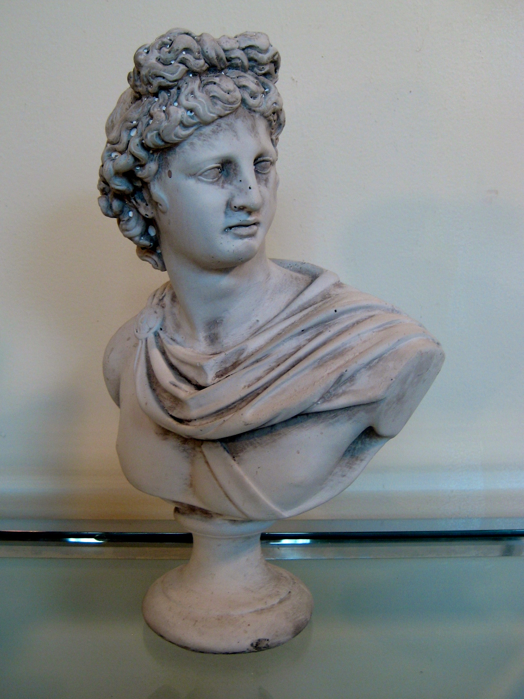 Vintage Bust Of Apollo The Savoy Flea