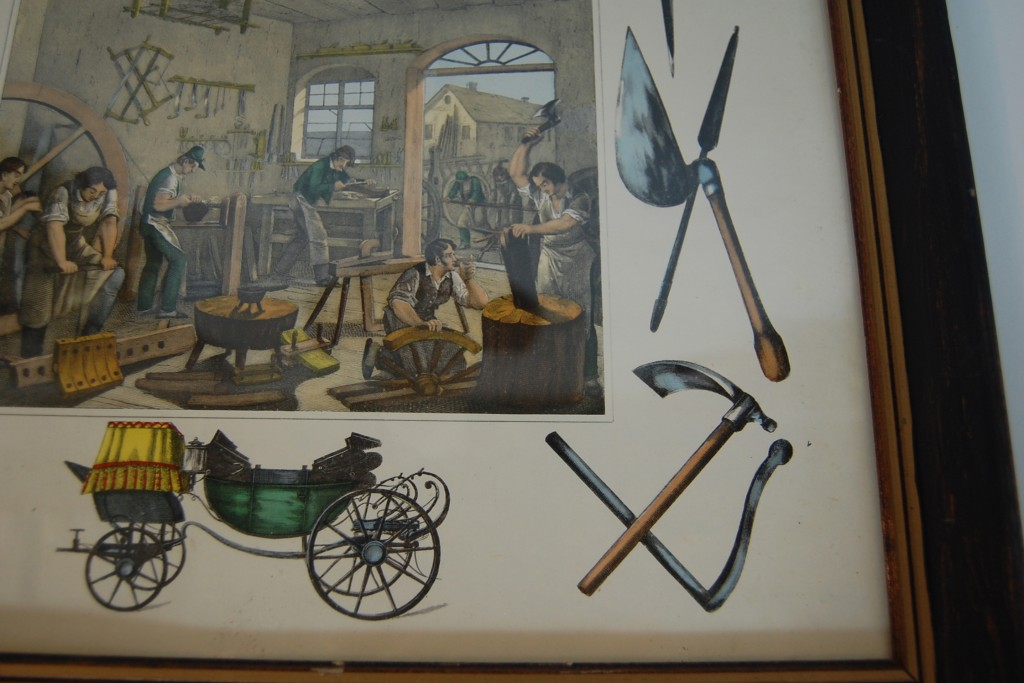 Vintage Tool Carriage Maker Framed Print The Savoy Flea