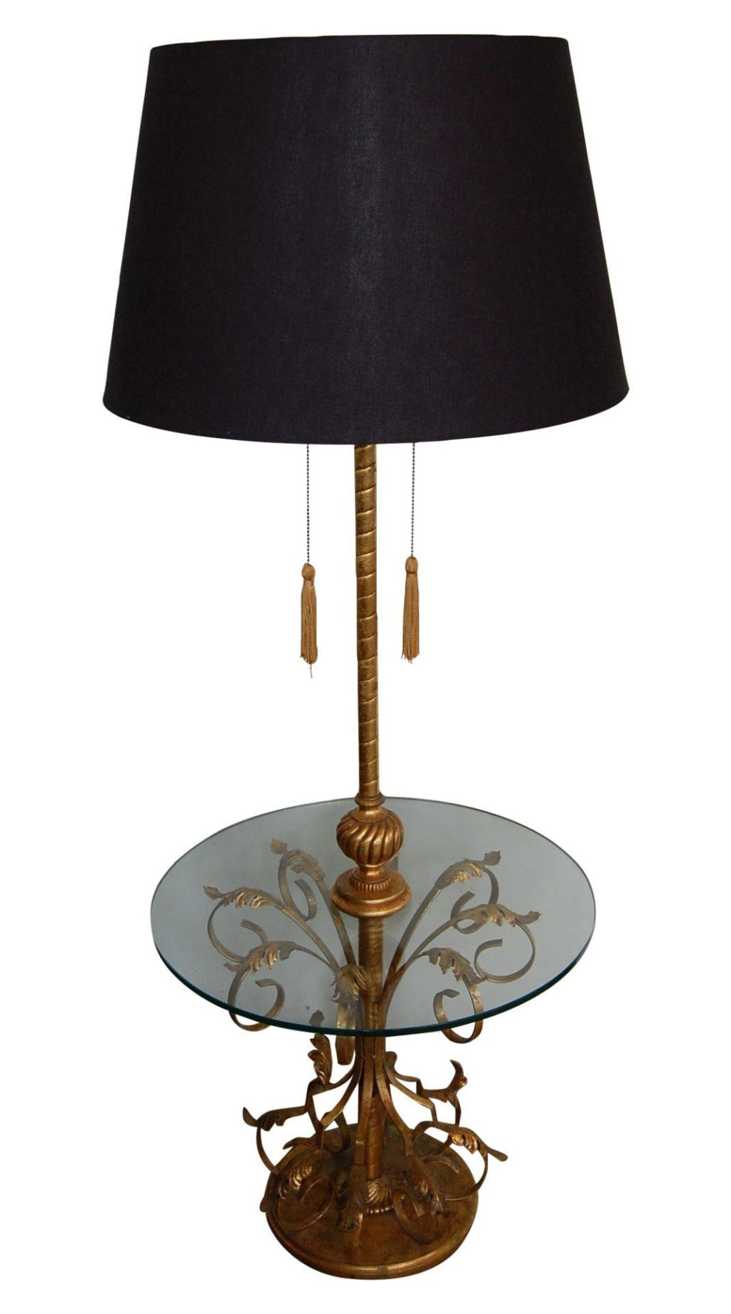 Vintage Regency Italian Tole Table Amp Floor Lamp The