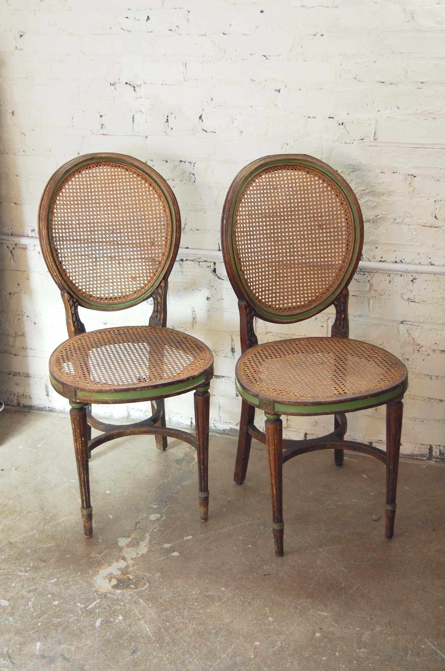 Pair Of Antique Kohn Bentwood Amp Cane Chairs The Savoy Flea
