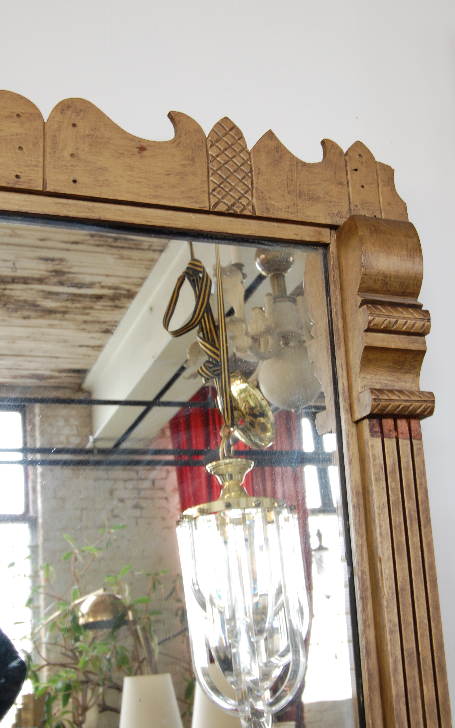 Guermantes Antique Eastlake Pier Mirror The Savoy Flea