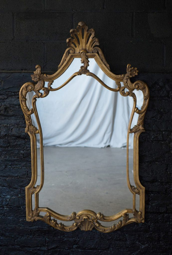 Large Gilt Rococo Mirror The Savoy Flea